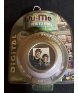 Vu-Me Photo Golf Ball Digital Photo Frame New Sealed Holds 70 Pictures ! - $12.60