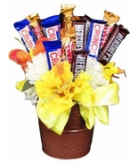 Golden Blossom Candy Bouquet by The Candy Vessel - $24.99