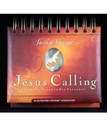 DaySpring Perpetual Flip Calendar Jesus Calling Sarah Young Scripture De... - $13.87