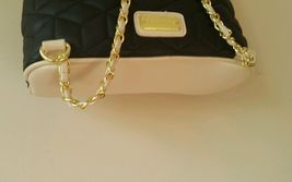 NWT Big Buddha Blk/Cream Gold Tone Chains Ladies Backpack BBO09505 image 3