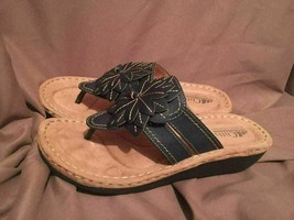 (USED/WORN) CLIFFS WHITE MOUNTAIN COVE WOMEN SIZE 8.5 M SANDALS BROWN - $29.69
