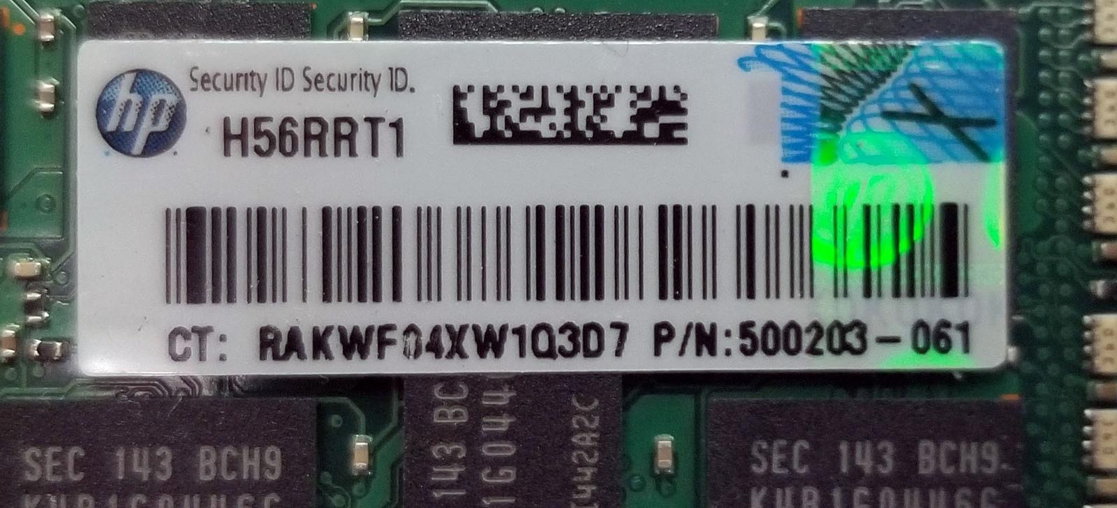 Samsung 4GB Ram M393B5170GB0-CH9Q8 2Rx4 PC3-10600R (FORSERVERONLY) Bin:15