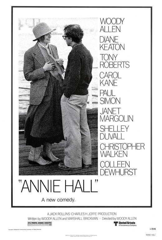Annie hall movie poster 27x40