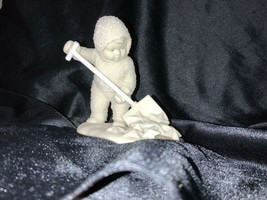 "Dept 56 Winter Tales of Snowbabies ""So Much Work To Do"" 6837-3 Shoveling... - $15.00"
