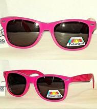 Lot of 2 Way Cool Neon Pink Glare Block Polarized Sunglasses Spring Hinges UV400 - $11.21