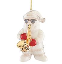 Lenox 2018 Annual Santa Figurine Ornament Sax Solo Saxophone Jazz Christ... - $108.90