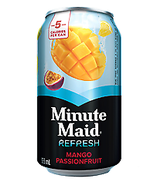 MINUTE MAID REFRESH MANGO PASSION FRUIT CAN   - 3 Cases----Each  Case Is... - $22.30
