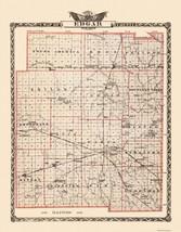 Edgar County Illinois  - Warner 1876 - 23 x 29.44 - $36.58+