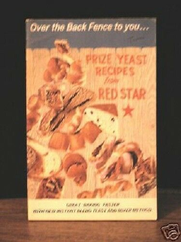 Primary image for Vintage Wisconsin Red Star Yeast Community Recipes Contest Winners Booklet