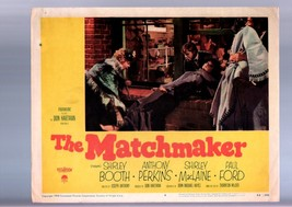 THE MATCHMAKER-SHIRLEY BOOTH-LOBBY CARD-1958 VG - $21.83