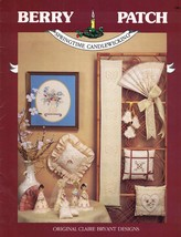 Berry Patch SPRINGTIME CANDLEWICKING CW-3 Booklet Original Claire Bryant... - $4.99