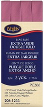 """Wrights 1/2"""" Extra Wide Double Fold bias tape PC 206 - 3 Rosa  206 1233 - $7.55"""