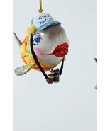Katherine's Collection kissing fish Christmas ornament whale watching - $22.99