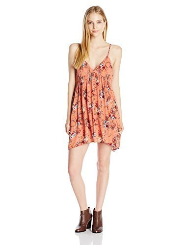 O'Neill Junior's Anja Printed Woven Dress, Canyon Sun, L