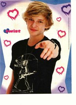 Cody Simpson teen magazine pinup clipping pointing at you Twist young idol - $1.50