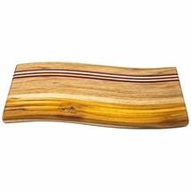 Ziruma Wood Cutting Board Handmade with Teak, Purple Heart and Pine Wood... - £52.10 GBP