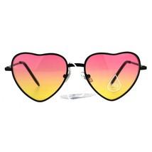 Heart Shape Sunglasses Womens Love Lollita Fashion Oceanic Color Lens - $10.95