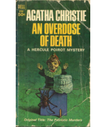 AN OVERDOSE OF DEATH aka THE PATRIOTIC MURDERS Agatha Christie - HERCULE... - $3.00