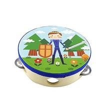 Kids Musical Instruments Toy Tambourine Cute Hand Drum,Baby Boy