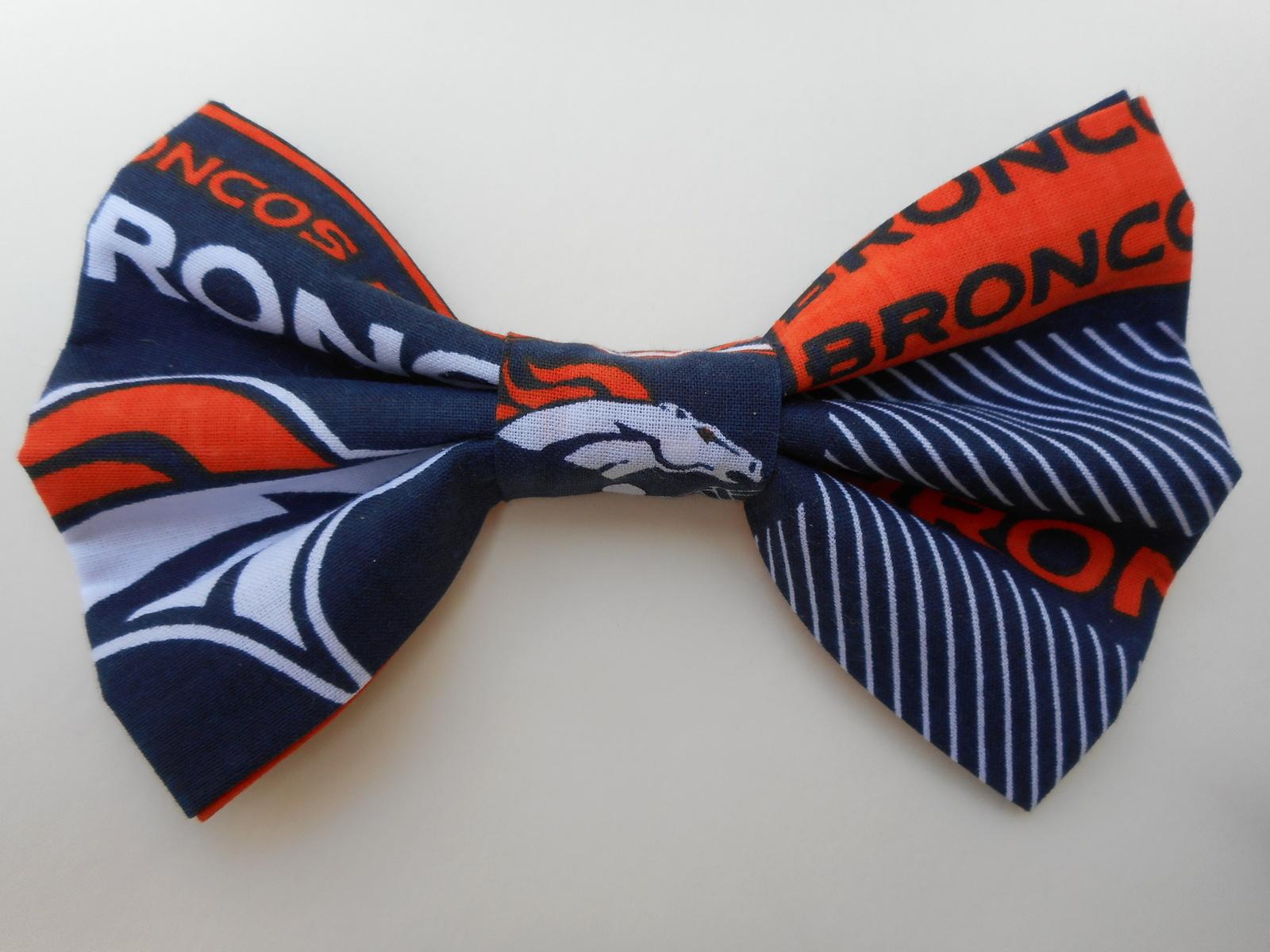 Denver Broncos Big Bow Barrette - $8.00