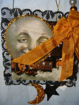 Halloween Magic Moonlight Postcard Ornament Bethany Lowe image 5