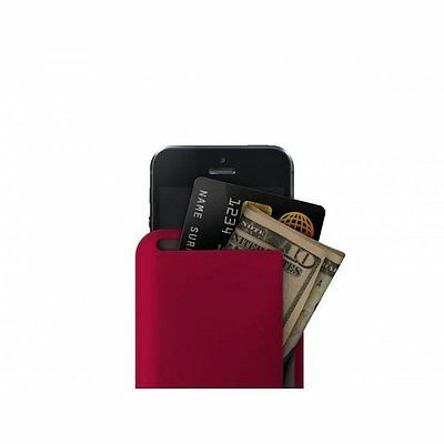 Dosh Syncro iPhone 5/5S Wallet - Velour Water Resistant Credit Card Holder