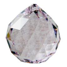 Swarvoski Strass Crystal 40mm Faceted Ball Prism  Rosaline image 2