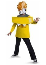 NEW Electroid Volectro Mixels Costume Boy Size 8 10-12 Halloween Top Mas... - $18.95