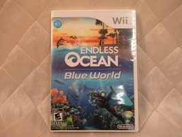 Endless Ocean Blue World for Wii 2010 Video Game SEALED - $21.76