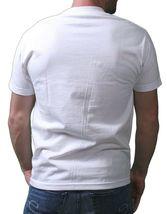 IM King Hombre Blanco Loudmouth Chillón Boca Gráfico Camiseta Ee.uu. Hecho Nwt image 3