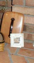 Longaberger 2004 Dads Valet Fathers Day Basket Wooden LID ONLY New SEALED - $15.79