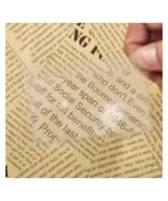 2 PC Magnifier Magnifying Lens Reading Aid.                             ... - $2.99