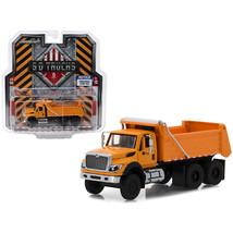 2018 International WorkStar Construction Dump Truck Orange S.D. Trucks S... - $26.92