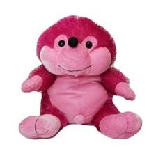 "Six Flags Pink Hedgehog Plush Stuffed Animal 12"" x 12"" - $21.29"