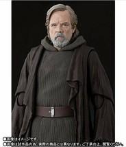 Bandai S.H.Figurines Star Wars Luke Skywalker le Dernier Jedi Action Fig... - $102.21