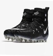 Nike Force Savage Elite TD Football Cleats Black White 857063-011 SIZE 9.5 - $44.65