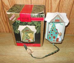 "1990 Hallmark Magic Light ""Look It's Santa"" Christmas Ornament - $18.36"