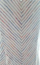 Tommy Hilfiger Women Beige Blue Striped Flare Sleeveless Dress Cotton Blend 8 image 4