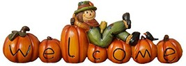 Your Heart's Delight Pumpkin/Scarecrow Welcome Fall Fun Word Sign, 9-1/2... - €25,69 EUR