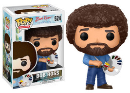 Bob Ross The Joy of Painting Vinyl POP! Figure Toy #524 FUNKO NEW MIB - $13.50