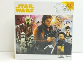 Star Wars Han Solo Chewbacca 300 Pc Disney Puzzle Family Fun Kid Adult G... - $24.74