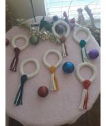 Macrame Wreath | Wreath Ornaments| Christmas Ornaments | Handcrafted Mac... - $11.88+