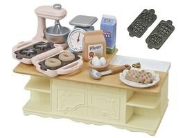 Epoch Sylvanian Families Calico Critters Muebles Isla Cocina Juego K-423 - $17.02