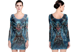Injustice Gods Among Long Sleeve Bodycon Dress - $24.99+