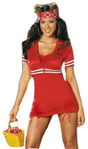Dreamgirl Sexy Little Red Riding Hood Wolf Costume Lil Red From Da Hood ... - $29.60