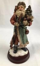 "St. Nicholas & Me 10"" Santa Claus Christmas Figurine WBI Inc 1994 W Tree... - $16.65"