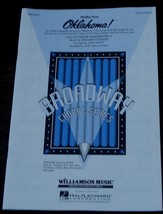 Medley from Oklahoma, Hammerstein/Rodgers, 1993  OLD MUSIC BOOK - VERY NICE - $5.93