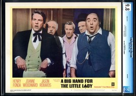 A BIG HAND FOR THE LITTLE LADY-JASON ROBARDS-LOBBY CARD #2-CGC 9.8 - $55.78