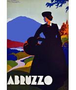 "20x30""Poster on Canvas.Home Room Interior design.Travel Italy.Abruzzo.6501 - $60.78"