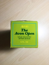 """70s """"The Avon Open"""" Golf after shave bottle/original packaging (Wild Country) image 3"""